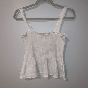 Size medium American Eagle white tank top